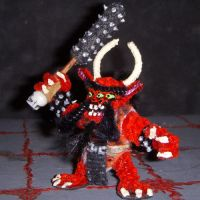 Oni Mini with Kanabo by the-gil-monster