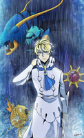 Siebold, Kalos Elite Four