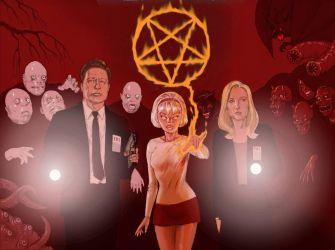 TLIID X-Files meets Sabrina the Teenage Witch by Nick-Perks