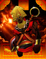 Benin Warrior pt 2 by ShaneGreer