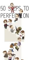 50 STEPS TO PERFECTION by Hallpen