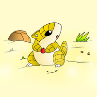Sandshrew In The Desert