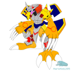 Digimon Corrupted WarGreymon by MarioKid1285