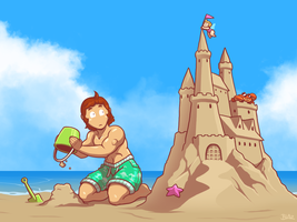 King of the Sand by Blazbaros