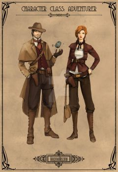 Character Class: Adventurer by Machina-Obscura