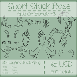 Short Stack Add On Bundle #3 by Omega-Fluff