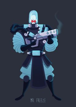 MR FREEZE by GrievousGeneral
