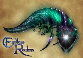 Endless Realms bestiary - Phase Beast by jocarra