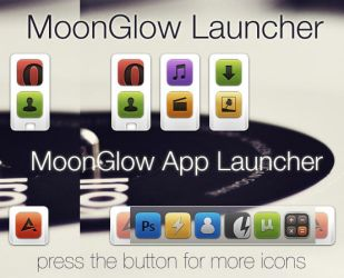 MoonGlow App Launcher - Pack by kovadam89