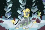 Kyu Winter Grey Commission copy by Grump-Support