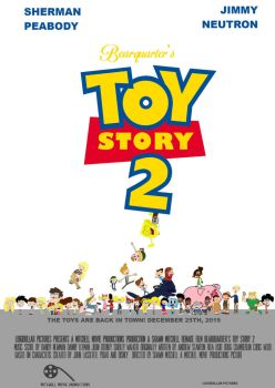 Bearquarter's Toy Story 2 Theatrical Poster by Bearquarter2008