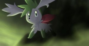 Commission: Shaymin by All0412