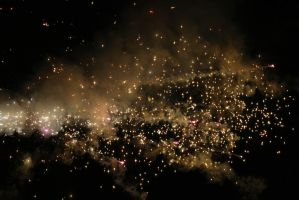 Fireworks Stock 171 by Malleni-Stock