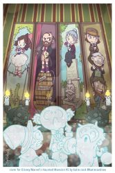 Haunted Mansion comic cover by katiecandraw