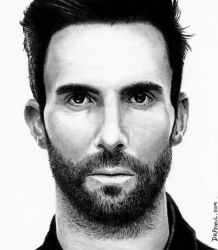 Adam Levine - Maroon5 by Doctor-Pencil