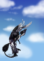 Soaring high by ClaribeIle