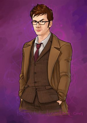 Tenth Doctor: for rabbit-stock by Kinky-chichi