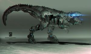 Dino Mech by psdeluxe