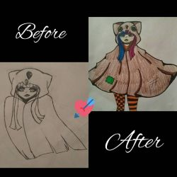 before/after by GhostgirlxBigBoy