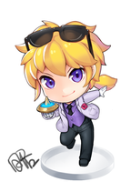 Nendroid ver.Ezreal by dakun87