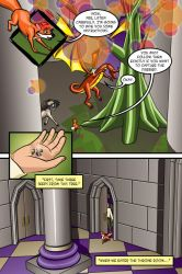 The Fox and The Firebird-Pg 46 by Marie-August