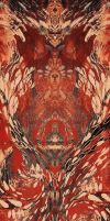 Red abstraction by Moolver-sin