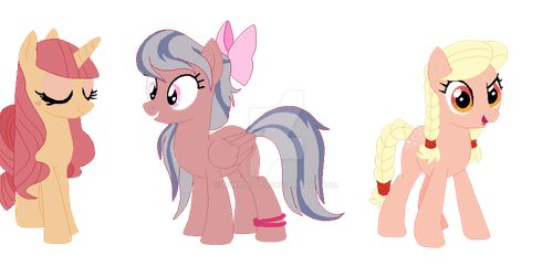 Recolour Adoptables Batch #1 {open} by mimadopts