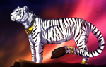 White Tiger by AzureHowlShilach