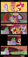 CMC and Spike in ''Floo Medallions'' by DiegoTan