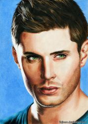 Jensen Ackles (commission) by Ilojleen
