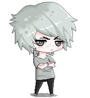 ~Commission~ Zachary Elwes -Pixel chibi- by Lit-chi