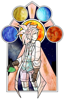 Starry Skies and Science Go Hand in Hand by Scibie