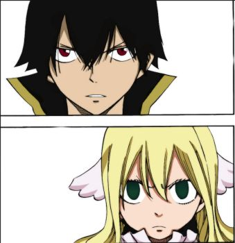 Zeref, Mavis by UtaYuyuka