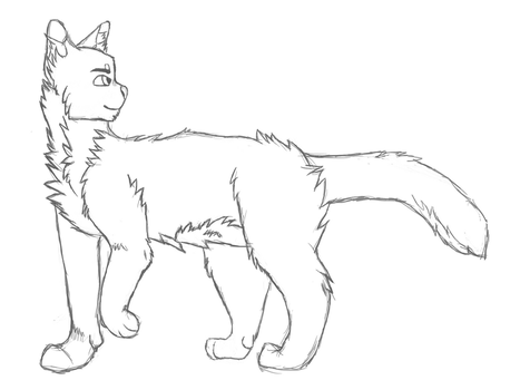 Cat pose base for adopts by QuirkyBaconroni