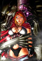 Litte Red Riding Hood by Flo-Jitz