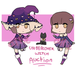 ''Undercover'' Witch - [AUCTION] [CLOSED] by alliemews