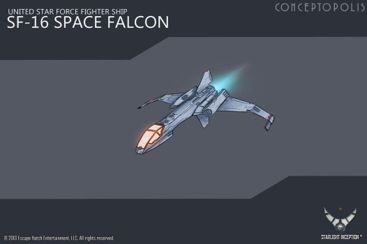 SF-16-Space-Falcon color by Conceptopolis