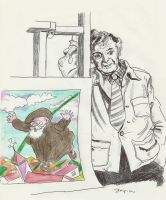 Tribute to Chagall and the Abbe Pierre by Stcyr74