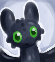 just toothless by LeniProduction