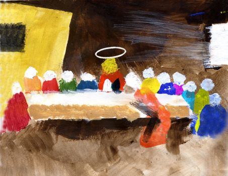 Last Supper by CurtisNeeley