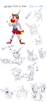 Another Fanchild + Doodles by KarlaDraws14