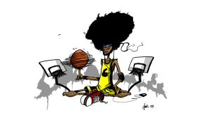 Afro Basketball by JordiHP