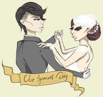 Couple Glam Wedding Theme by rokusanchan
