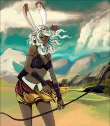 Fran on the Plains by doven