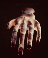 Quick Hand Sculpt by Icesturm