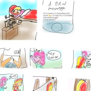 Babysitting as easy as pie part 1 by teatree123