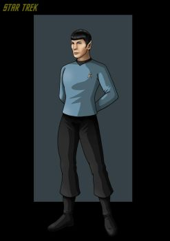 commander spock. by nightwing1975