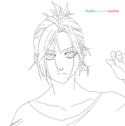Annie Lineart ~ Attack on Titan by TheMuseumOfJeanette