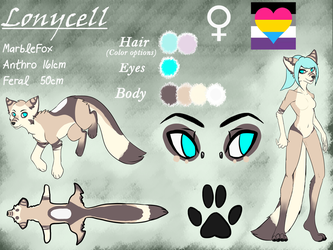 Character Sheet: Lonycell by Lonycell