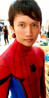 Cosplay Peter Parker Spiderman by maysatria